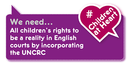Manifesto demand: incorporate the UNCRC