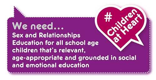 Manifesto demand: sex & relationships education in schools
