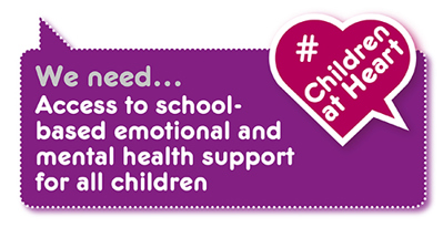 Manifesto demand: mental health support in schools