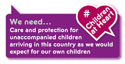 Manifesto demand: protection for unaccompanied children