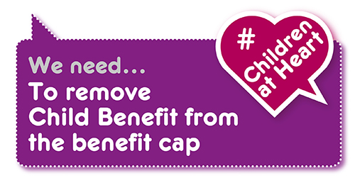 Manifesto demand: no child benefit cap