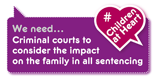 Manifesto demand: family impact of sentencing