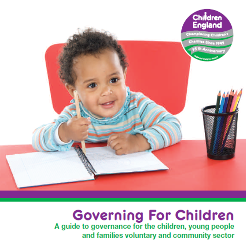 Cover image Governing for Children