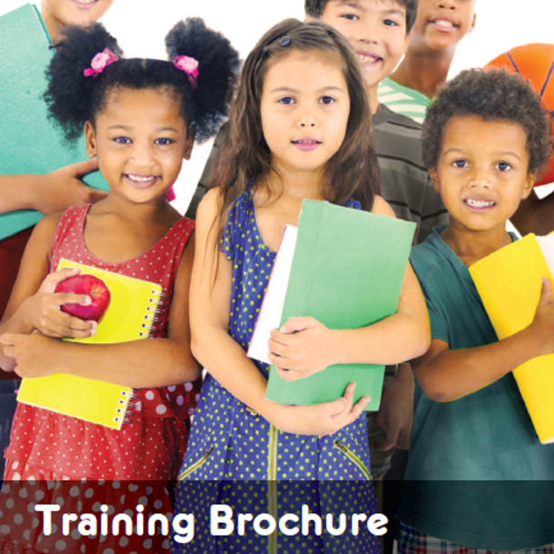 Training Brochure cover