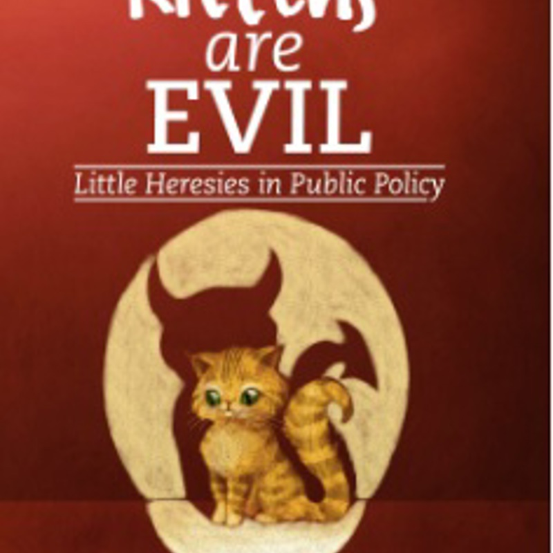 Kittens are Evil - book cover
