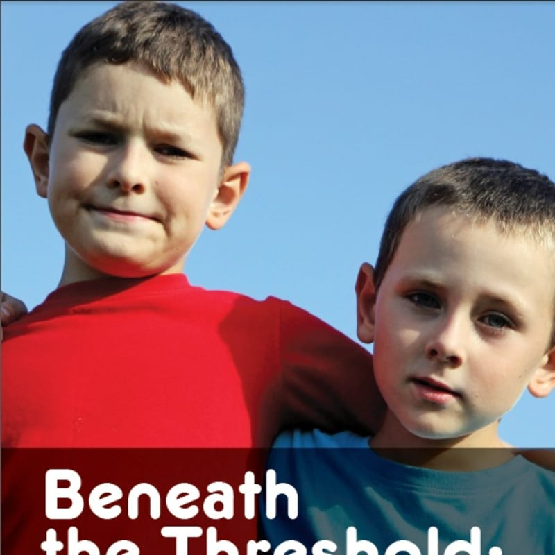 Beneath the Threshold report - cover image