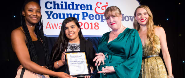 CYP Now Awards - Kathy Champion of Children & Young People